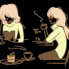 原宿 お話し相手カフェ